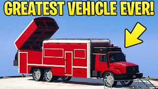 GTA Online: Benefactor Terrorbyte Review - THE GREATEST VEHICLE EVER! (Should You Buy)