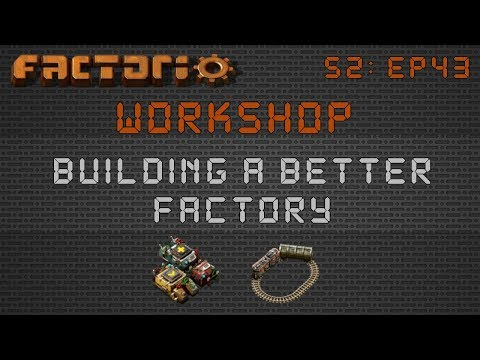 Mojo's Make Everything Train Area :: Factorio Workshop Season 2 - Building A Better Factory