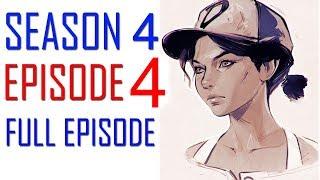 The Walking Dead Game Season 4 Episode 4 FULL EPISODE Walkthrough Part 1 Gameplay - No Commentary