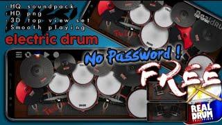 No Password !! Kolb Realdrum App Preset Kit - Electric drums by TUGS'TUPAKK!