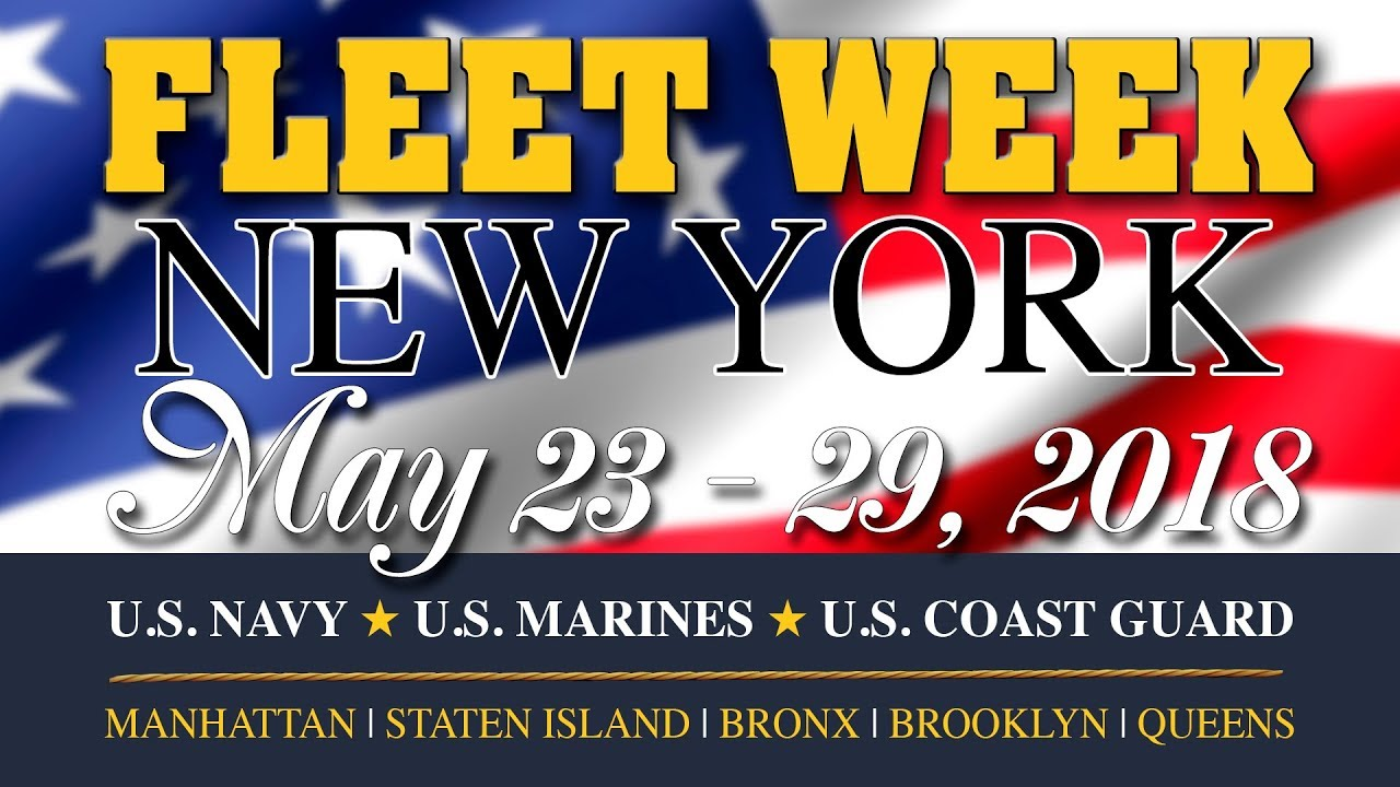 Image result for fleet week 2018