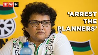 ANC deputy secretary-general Jessie Duarte said that the violent looting and anarchy that took place in parts of Gauteng and KwaZulu-Natal in July was an attempt to threaten the country's democracy. Duarte also said that the governing party was concerned that those responsible for the violence were not stopping with their plan and may be planning a phase two.