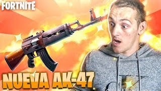 THE MOST EPIC WAY TO GET THE NEW LEGENDARY AK OF FORTNITE!