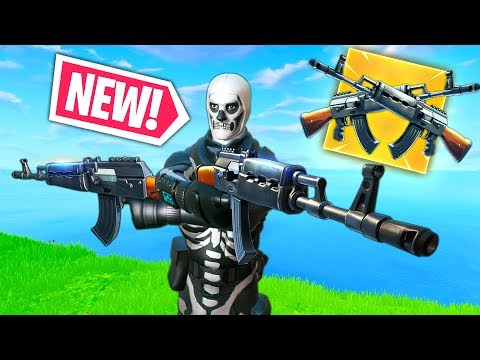 *NEW* AK 47 CRAZY GAMEPLAY! | Fortnite Funny and Best Moments Ep.293 (Fortnite Battle Royale) thumbnail
