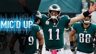 "Carson Wentz Mic'd Up vs. Vikings ""You're a Handful!"" 