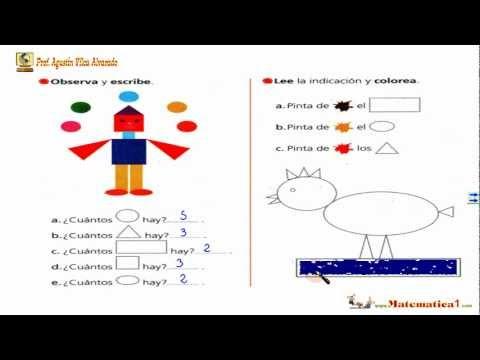 Las figuras geom tricas matem ticas ni os 5 6 7 a os - Actividades para ninos pequenos ...