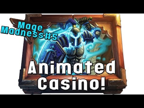 [Hearthstone] Casino Animated Armor Mage! Wait what? [Constructed Gameplay]