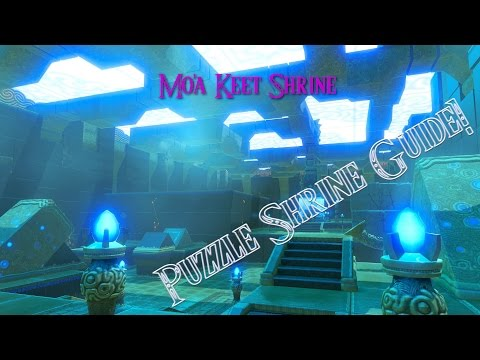 Breath of the Wild Guides - Mo'a Keet Shrine (Metal Makes a Path) Puzzle Shrine Guide
