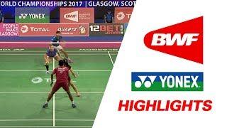 TOTAL BWF World Championships 2017 | Badminton Day 1 – Highlights