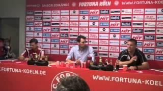 FortunaTV - Die Pressekonferenz nach der Heimniederlage gegen den Chemnitzer FC