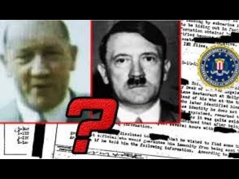 EUF  Hitlers Escape to Argentina where he lived in until 1962
