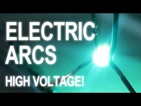 Lethal Electric Arcs (MOT Jacobs ladder)