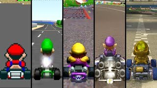 Evolution of First Courses in Mario Kart (1992-2019)