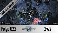 Folge 022 2vs2 Starcraft 2 - Reaper harassment ( German / Deutsch )