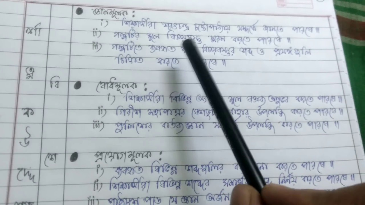 Lesson plan   BENGALI SUBJECT  for only B ED   D EL ED  REGULAR B ED     Lesson plan   BENGALI SUBJECT  for only B ED   D EL ED  REGULAR B ED    D EL ED LESSON PLAN FORMAT