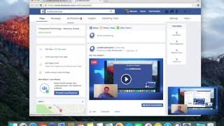 How to stream from your Mac desktop to Facebook Live