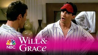 Will & grace - will's and jack's matching jammies (highlight)