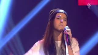 Alberina - Airplanes - BLIND AUDITIONS 2 - The Vocie Kids Germany 2015 - 06-03-2015