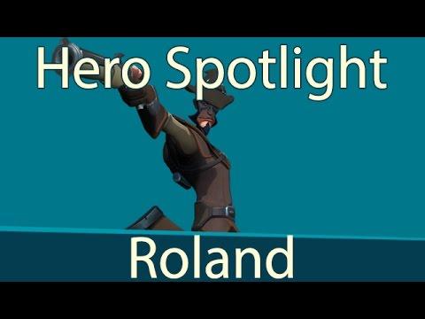 Gigantic Hero Spotlight - Roland