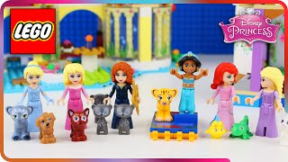 ♥ LEGO Disney Princess Compilation 2015 SEASON 2 (Aurora, Rapunzel, Merida, Jasmine...)