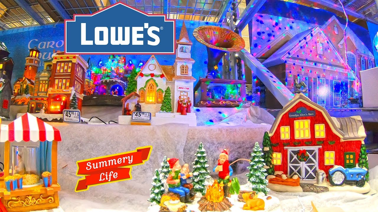 LOWES CHRISTMAS 2018 WOW AMAZING SHOP WITH ME CHRISTMAS