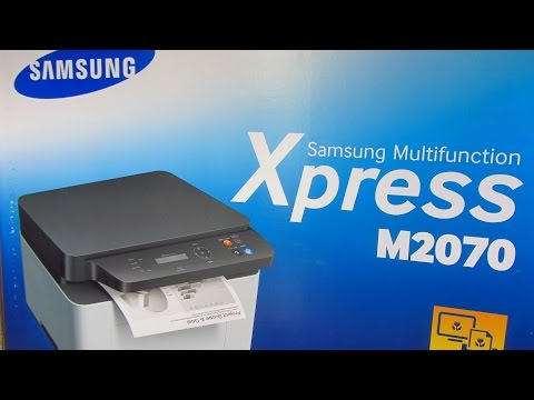 Samsung M2070 Multifunction Laser printer (Unboxing, Quick Review)