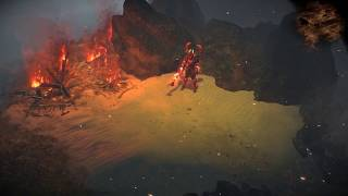 Path of Exile: Fire Gale Hideout Decoration