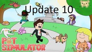 Update 10! New pets and new mechanics | Roblox: Pet Simulator