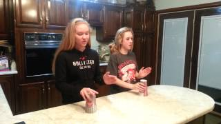 Cup song by Sarah and Alexis