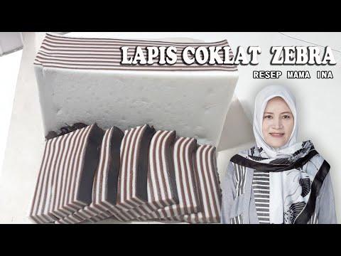 lapis-coklat-warna-zebra-legit,-awet-dan-kenyal-bahan-dari-tepung-beras