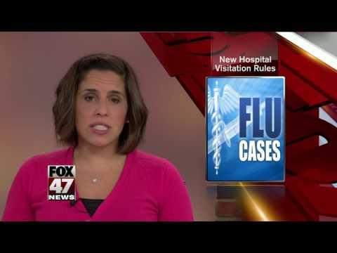 Hospital limiting visitors during flu season