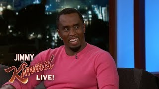 Sean Diddy Combs on New Singing Competition Show & DJ Khaled