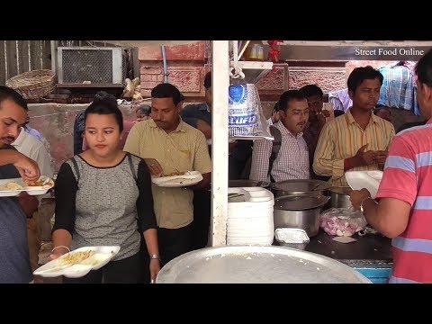 Veg Polao   Roti   Malai Kopta   Kasmiri Aloo Dum   Motor Panir   Street Food Besides Maidan Metro