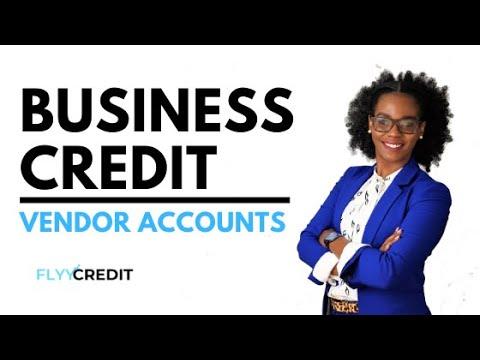 Business Credit: Vendor Accounts