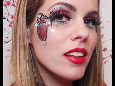 easy to do   butterfly make up tutorial english lyche