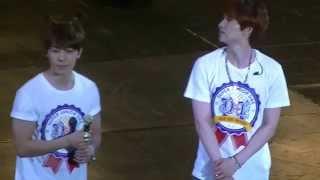 150607-super junior D&E in taiwan-排擠銀赫和東海說秘密talking