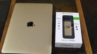 Glyph Atom Gold 275GB Portable USB-C & USB 3.0 FAST SSD Drive