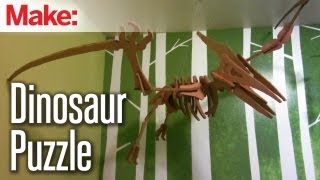 Diy Hacks & How To's: Cardboard Dinosaur Models