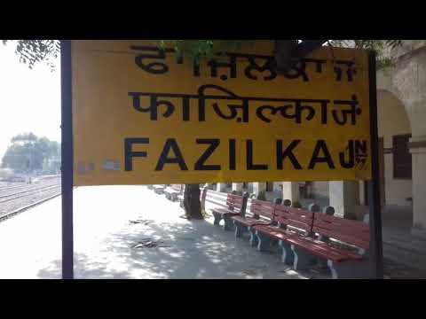 Fazilka: मालगाड़ी के डिब्बे को खंबे से बांध कर लगाया ताला (रिपोर्ट- लक्ष्मण दोस्त) 24-05-18
