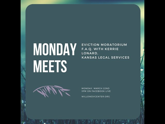 Monday Meets: Kerrie Lonard with Kansas Legal Services