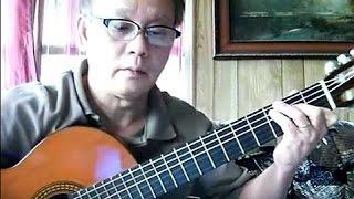 Giọt Nước Mắt Cho Quê Hương (Trịnh Công Sơn) - Guitar Cover