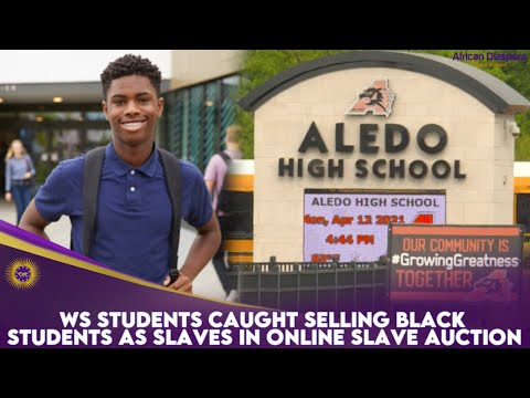 WS Students Caught Selling Black Students As Slaves In Online Slave Auction