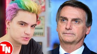 Felipe Neto e youtubers comentam sobre o ocorrido com Bolsonaro