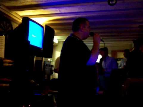Mark D (DAD)....Garys Karaoke, welcome home
