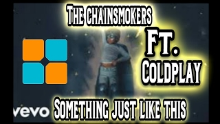 The Chainsmokers ft.  Coldplay - Something Just Like This ( Unipad Cover With Led) + Project File Mp3