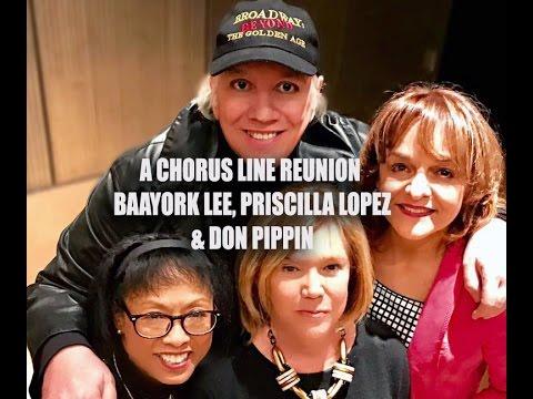 A CHORUS LINE REUNION - Baayork Lee, Priscilla Lopez, Don Pippin, NYPL 3/23/17