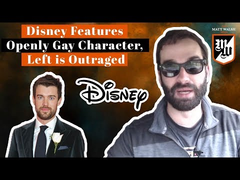 Disney Will Feature An Openly Gay Character   The Matt Walsh Show Ep. 83