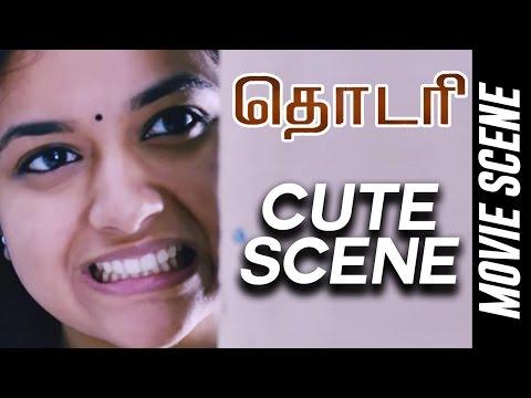 Thodari - Cute Scene | Dhanush | Keerthy Suresh | D