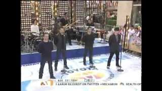98 Degrees on The Today Show *Because of You* 8-17-12