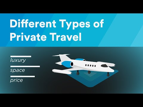 Types of Private Travel — Private Jet Charter with evoJets